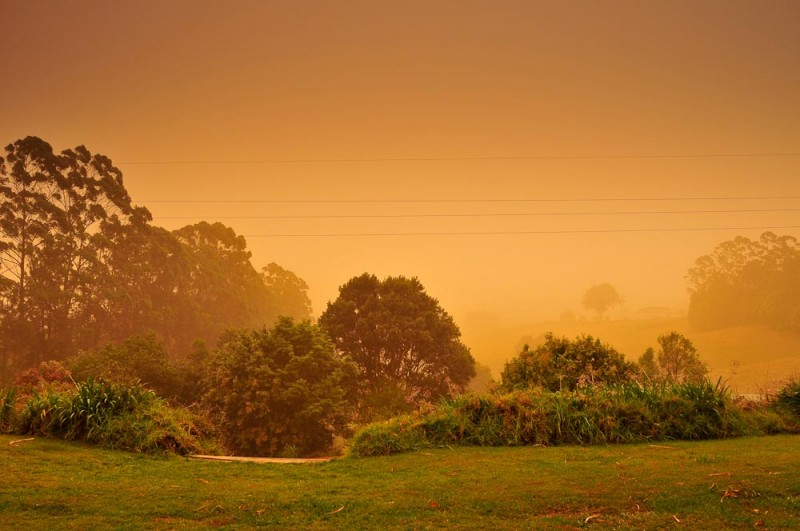 Lismore Dust storm NSW-1